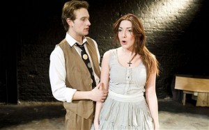Adam Redmore and Jessie Lilley in Double Falsehood at the Union | Fake Shakes(peare)