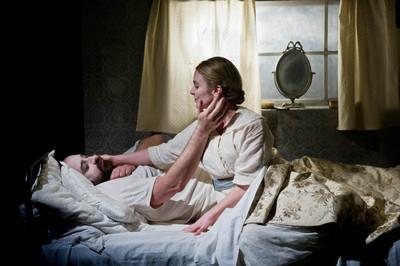 Alastair Parker and Kaisa Hammarlund in Bed & Sofa