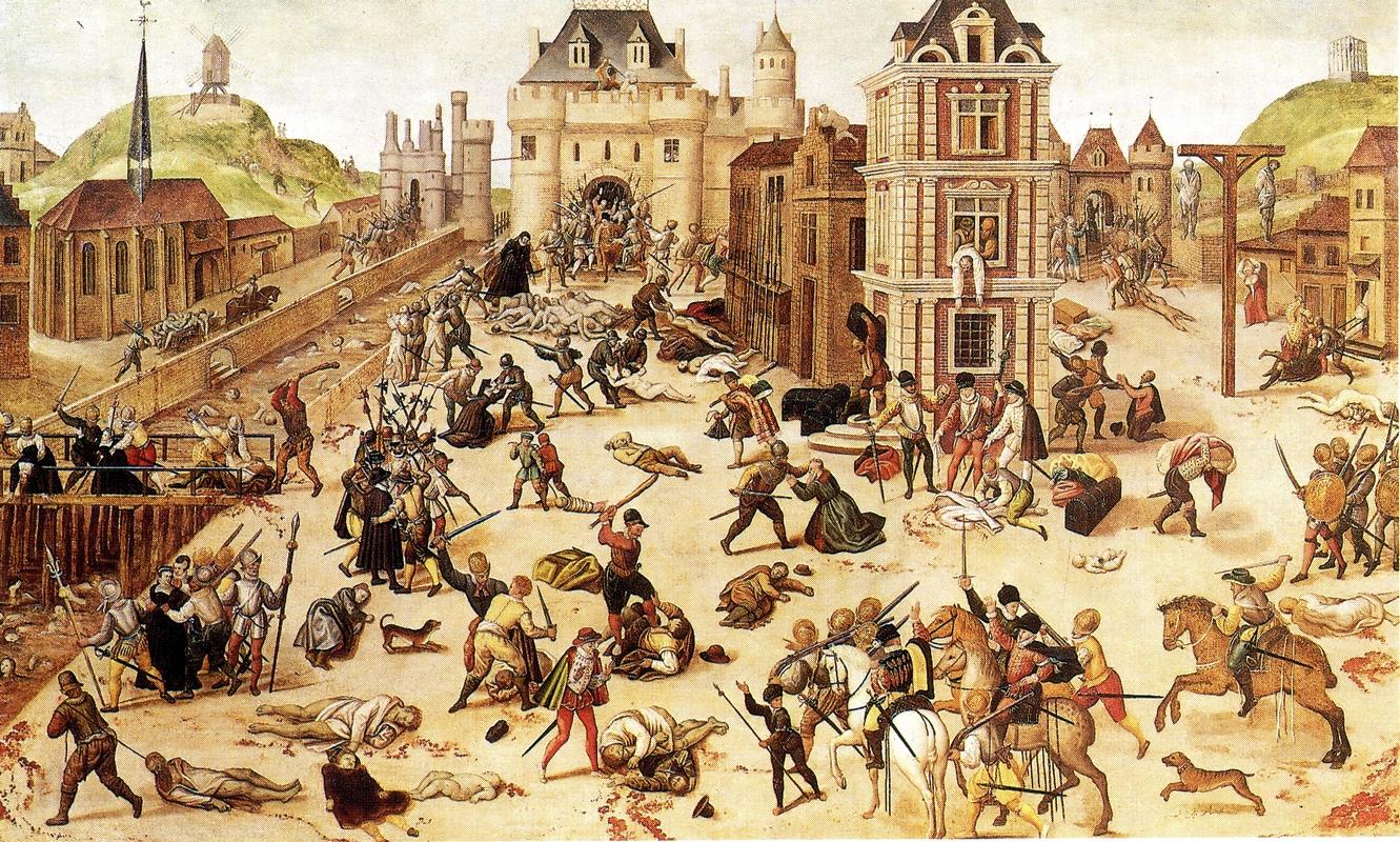 The St Bartholomew's Day Massacre, by Francois Dubois
