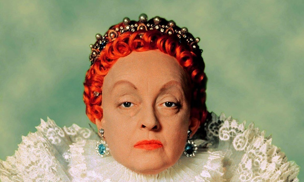 Bette Davis in a still from the film The Private Lives of Elizabeth and Essex. Photograph: Allstar/Cinetext/Warner Bros