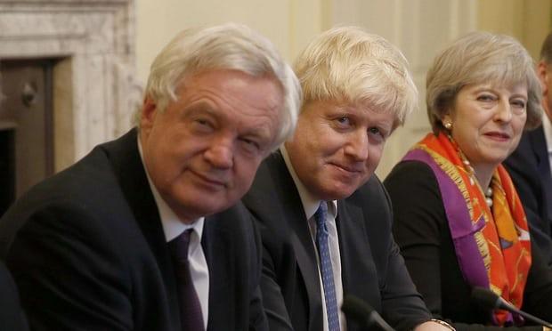 David Davis in Cabinet Kate Maltby